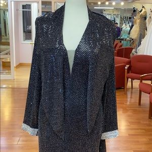 2Her2Him Dresses - Black special occasion dress with scarf